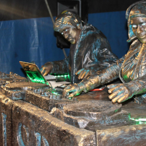 Living Statues Djs