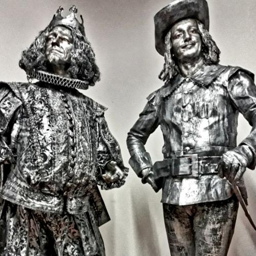 Le roi et son mousquetaire