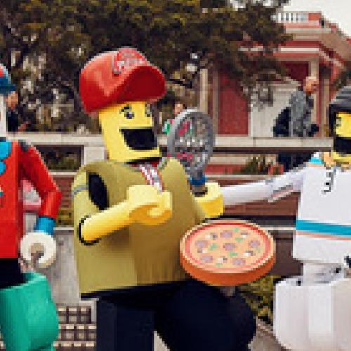 Le livreur de pizzas