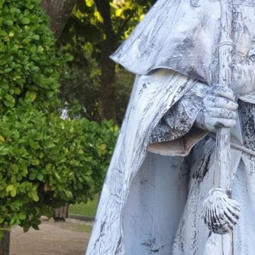 Le pélerin de Saint Jacques de Compostel